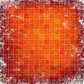 grunge červené čtverce